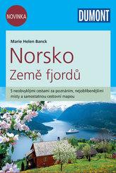 Norsko Země fjordů - Průvodce se samostatnou cestovní mapou