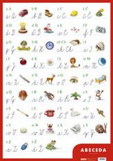 Nástěnná tabule abecedy