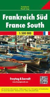Frankreich Süd / France South 1:500 000