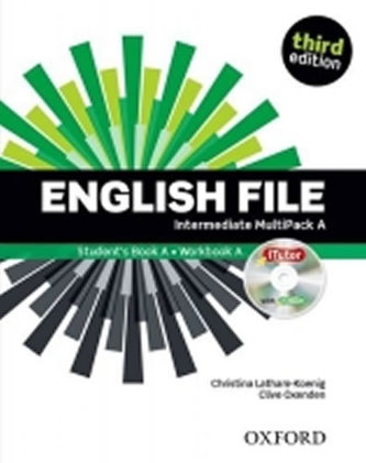 English File Intermidiate Multipack A - Náhled učebnice