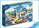 BanBao stavebnice Police policejní stanice s rozdělovačem dílků