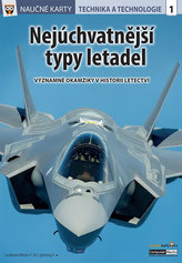 Nejúchvatnější typy letadel - Naučné karty