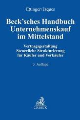 Beck\'sches Handbuch Unternehmenskauf im Mittelstand