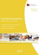Fit für die Textverarbeitung - Wirtschaft und Verwaltung (mit Tastaturschulung)