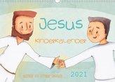 Jesus Kinderkalender (Wandkalender 2021 DIN A3 quer)