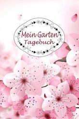 Mein Garten Tagebuch: 150 Seiten / Punktraster / CA Din A5 / Blüten Cover Design