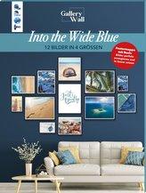 "Gallery Wall \""Into The Wide Blue\"". 12 Bilder in 4 Größen"