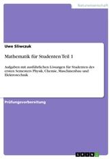 Mathematik für Studenten Teil 1