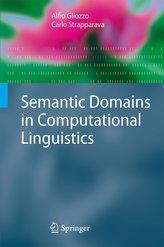 Semantic Domains in Computational Linguistics