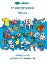 BABADADA, Srbija (Latinski pisanje) - Afrikaans, slikovni recnik - geillustreerde woordeboek