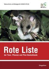 Rote Liste der Tiere, Pflanzen und Pilze Deutschlands - Säugetiere
