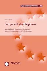 Europa mit den Regionen