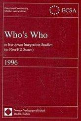 Who\'s Who in European Integration Studies (in Non-EU States)