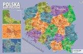 Podkładka na biurko - kody pocztowe Polska