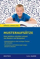 Königs Lernhilfen: Musteraufsätze für die 5./6. Klasse