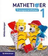Mathetiger 1 - Transparentfolien, Neubearbeitung (mit CD-ROM)