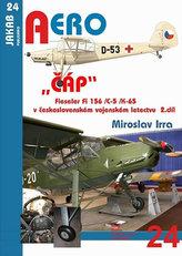 """""""ČÁP"""" Fieseler Fi 156 /C-5 /K-65 v československém vojenském letectvu - 2.díl"""