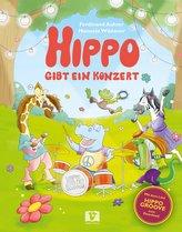 Hippo gibt ein Konzert