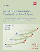 """Evaluation des strategisch-behavioralen Therapiemoduls \""""Entwicklung als Therapie\"""""""