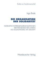 Die Organisation der Solidarität