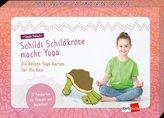 Schildi Schildkröte macht Yoga