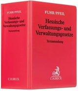 Hessische Verfassungs- und Verwaltungsgesetze (mit Fortsetzungsnotierung). Inkl. 110. Ergänzungslieferung