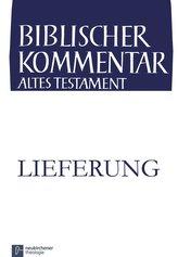 Chronik (1 Chr 13,1-22,1), 2. Lieferung / Biblischer Kommentar Altes Testament