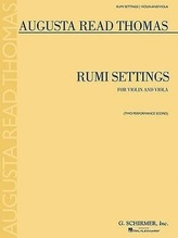 Rumi Settings: Violin and Viola