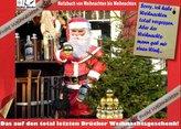 Das auf den total letzten Drücker Weihnachtsgeschenk - Ein Notizbuch Tagebuch von Weihnachten bis Weihnachten