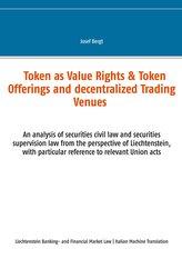 Token come Diritti di Valore &Offerte a Token e Centri Commerciali Decentralizzati