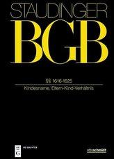 Staudingers Kommentar BGB §§ 1616-1625 (Kindesname, Eltern-Kind-Verhältnis)