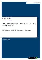 Die Einführung von ERP-Systemen in der Industrie 4.0