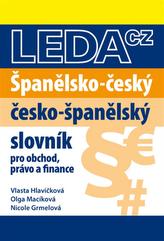 Španělsko-český, česko-španělský slovník pro obchod, právo a finance