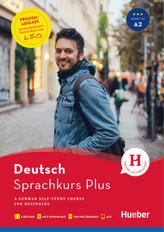 Hueber Sprachkurs Plus Deutsch A1/A2 - Premiumausgabe