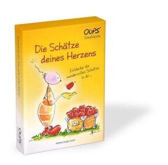 Oups-Karten - Oups-Schatzkiste - Die Schätze deines Herzens