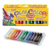 Farby w sztyfcie 12 kolorów
