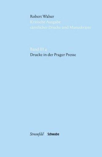Kritische Robert Walser-Ausgabe (KWA) Kritische Ausgabe sämtlicher Drucke und Manuskripte