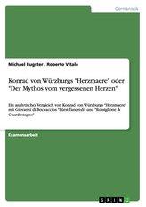"""Konrad von Würzburgs \""""Herzmaere\"""" oder \""""Der Mythos vom vergessenen Herzen\"""""""