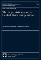 The Legal Articulation of Central Bank Independence