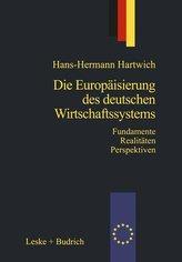 Die Europäisierung des deutschen Wirtschaftssystems