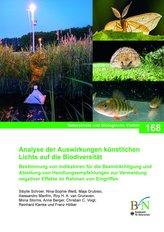 Analyse der Auswirkungen künstlichen Lichts auf die Biodiversität