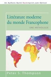 Littérature moderne du monde Francophone