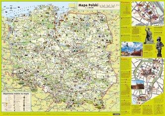 Plansza edukacyjna - Mapa Polski Junior