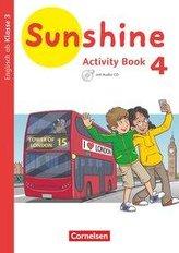 Sunshine 4. Schuljahr. Baden-Württemberg, Hessen, Niedersachsen - Activity Book