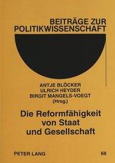 Die Reformfähigkeit von Staat und Gesellschaft
