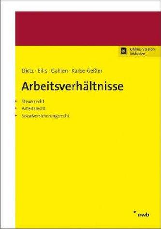 Arbeitsverhältnisse, m. 1 Buch, m. 1 Online-Zugang