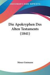 Die Apokryphen Des Alten Testaments (1841)