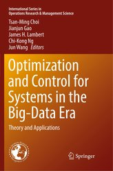 Optimization and Control for Systems in the Big-Data Era