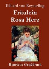 Fräulein Rosa Herz (Großdruck)