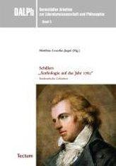 """Schillers \""""Anthologie auf das Jahr 1782\"""""""